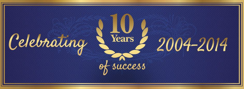 Celebrating 10 Years of Success