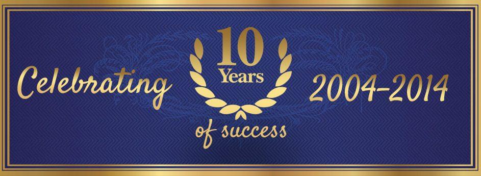 Celebrating 10 Years of Success